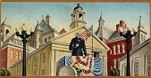 view Henry Clay Making a Speech (mural study, Portsmouth, Ohio post office) digital asset number 1