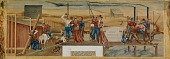 view Life in Grand Rapids and the Upper Mississippi (mural study, Grand Rapids, Minnesota Post Office) digital asset number 1