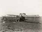 view Breguet Photographic Plane Brought Down in Flames, World War I digital asset number 1