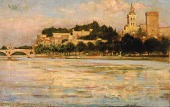 view The Palace of the Popes and Pont d'Avignon digital asset number 1