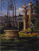 view In the Gardens of the Villa Palmieri digital asset number 1