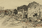 view Destroyed Village, War Front digital asset number 1