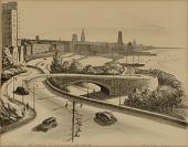 view Approach to George Washington Bridge digital asset number 1
