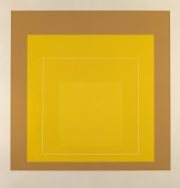 view Homage to the Square--White Line-Yellow digital asset number 1