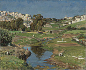 view View of Tangier with Washerwomen: Afternoon digital asset number 1