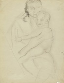 view (Untitled--Woman and Baby) digital asset number 1