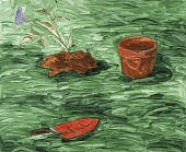 view Plant and Pot and Trowel digital asset number 1