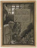 view (Illustration for Rubáiyát of Omar Khayyám) The Vain Pursuit digital asset number 1