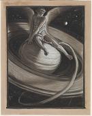 view (Illustration for Rubáiyát of Omar Khayyám) The Throne of Saturn digital asset number 1
