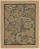 view (Illustration for Rubáiyát of Omar Khayyám) Lining Paper digital asset number 1