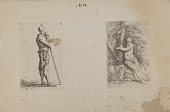 view (Figurine Series) Armored Man, Holding Spear digital asset number 1