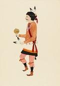 view Navajo Yebijhi Dancer digital asset number 1
