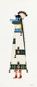 view Zuni Shalako Figure digital asset number 1