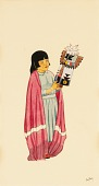 view Girl Holding Kachina digital asset number 1