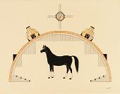 view Black Horse digital asset number 1