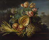 view Still Life with Fruit and Flowers digital asset number 1