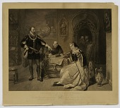 view Signing of Death Warrant of Lady Jane Grey digital asset number 1