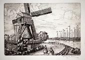 view Dutch Windmill digital asset number 1