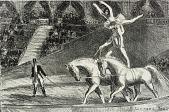 view Bareback Act, Old Hippodrome digital asset number 1