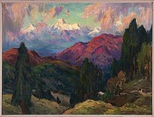 view From the Hermitage, Mayavati Himalayas digital asset number 1