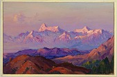 view Evening Glow, Himalayas digital asset number 1