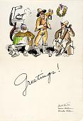 view Christmas Greetings 1934 digital asset number 1