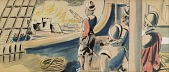 view Sir Francis Drake (study for Tallahassee mural) digital asset number 1