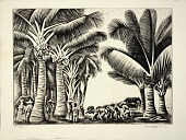 view Cocoanut Grove (Cocoanut Palms) digital asset number 1