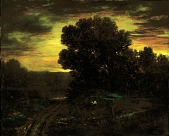 view River Landscape at Sunset digital asset number 1