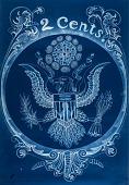 view (From Blue Print series) #24, Bi-Centennial Eagle digital asset number 1