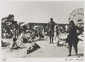 view Untitled--People on Beach with Ferris Wheel, from the portfolio Photographs of New York digital asset number 1