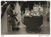 view Untitled--Pretzel Vendor, from the portfolio Photographs of New York digital asset number 1