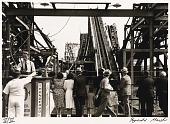 """view Untitled--""""Thunderbolt"""" Roller Coaster, from the portfolio Photographs of New York digital asset number 1"""