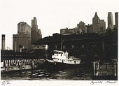 view Untitled--Tugboat at Dock, from the portfolio Photographs of New York digital asset number 1