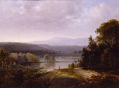 view River View with Hunters and Dogs digital asset number 1
