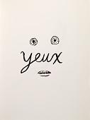 view Yeux (recto); Zéphir (verso) digital asset number 1