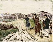 view The Cranberry Pickers digital asset number 1