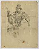 view (Untitled) (Young Man with Lute) digital asset number 1