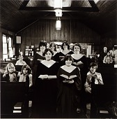 view Choir of the United Methodist Church, from the East Baltimore Documentary Survey Project digital asset number 1