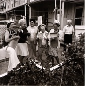 view Fourth of July celebration - unit block of North Curley Street - a 23 year tradition. digital asset number 1