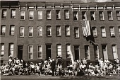 """view Viewers of the """"I Am an American Day"""" Parade, East Baltimore Street. digital asset number 1"""