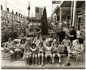 view The Marski family and neighbors at the 23rd annual Fourth of July Curley Street block party digital asset number 1