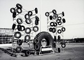 view Tires, Johnson County, from the Kansas Documentary Survey Project digital asset number 1