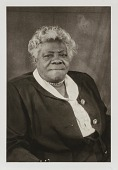 """view Mary McLeod Bethune, from the unrealized portfolio """"Noble Black Women: The Harlem Renaissance and After"""" digital asset number 1"""