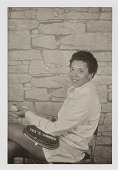 """view Althea Gibson, from the unrealized portfolio """"Noble Black Women: The Harlem Renaissance and After"""" digital asset number 1"""