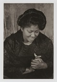 """view Mahalia Jackson, from the unrealized portfolio """"Noble Black Women: The Harlem Renaissance and After"""" digital asset number 1"""