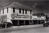 "view Thompson's Food Market, 38th and J, from ""The Corner Stores of Galveston,"" Galveston County Cultural Arts Council digital asset number 1"