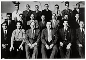 """view Independent Grocers Association of Galveston, officers and directors, 1950, from the series """"The Corner Stores of Galveston"""" Galveston County Cultural Arts Council digital asset number 1"""
