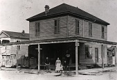 """view Micheletti Store at 1528 Avenue N, from """"The Corner Stores of Galveston,"""" Galveston County Cultural Arts Council digital asset number 1"""