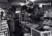 """view Skip's Food Store, 2902 Avenue R, Galveston, Texas, from """"The Corner Stores of Galveston,"""" Galveston County Cultural Arts Council digital asset number 1"""